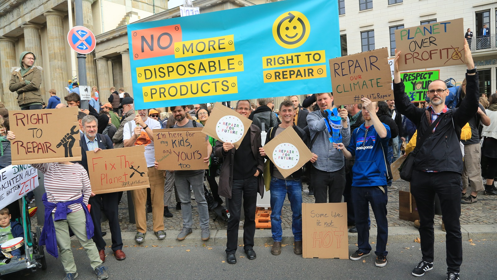 Right to Repair campaign kickoff in Berlin